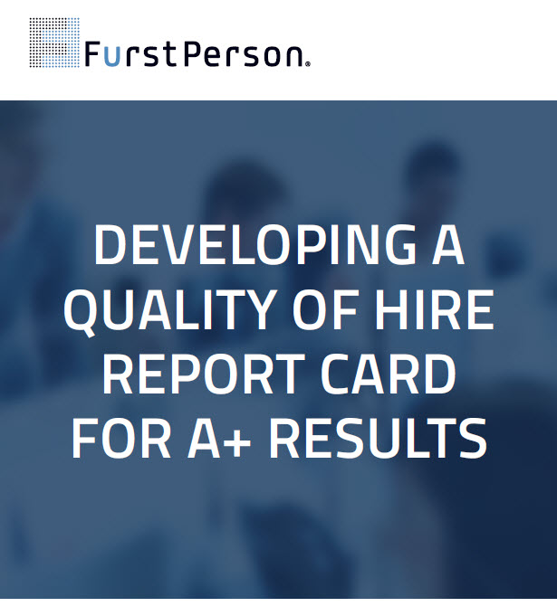 Developing a Quality of Hire Report Card
