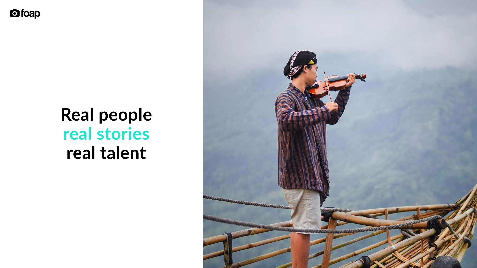 Real people, real stories, real talent
