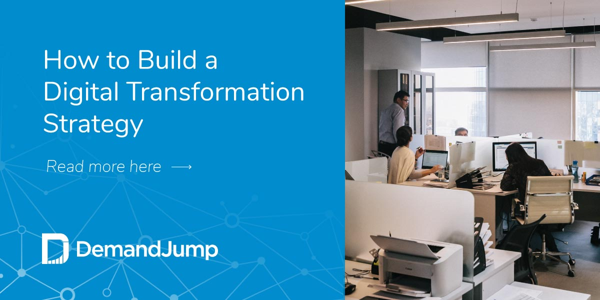 How to build a digital transformation strategy