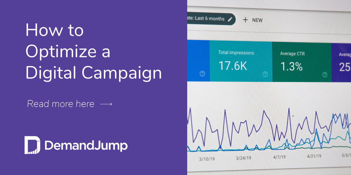 How to Optimize a Digital Campaign