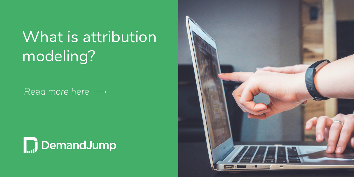 What is attribution modeling?