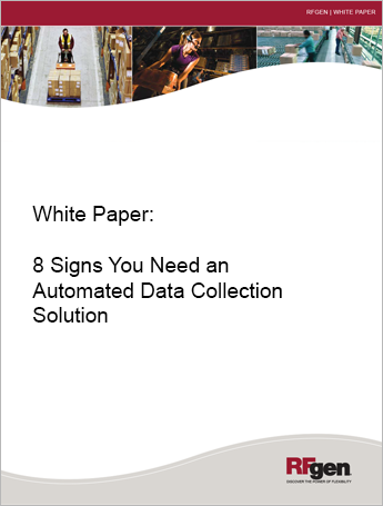 automated data collection 8 signs you need adc white paper. Black Bedroom Furniture Sets. Home Design Ideas