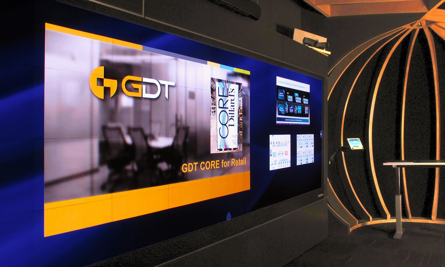 Prysm Video Wall at GDT