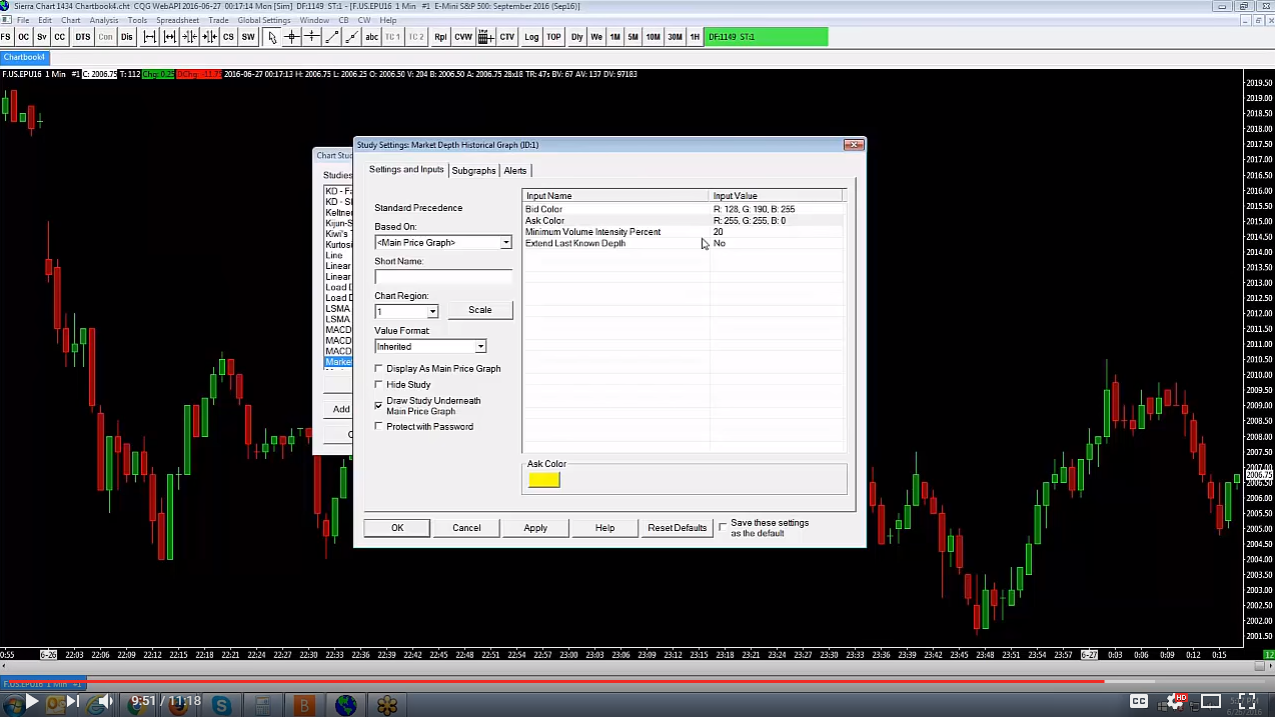 AMP How-To Video: Sierra Charts | Market Depth Historical