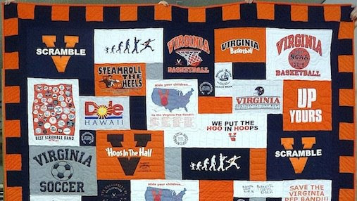 Click here to see more great T-shirt quilts