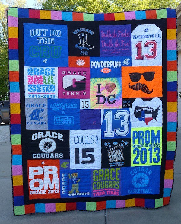 What Style T-shirt Quilt Do You Want? : tshirt quilt images - Adamdwight.com