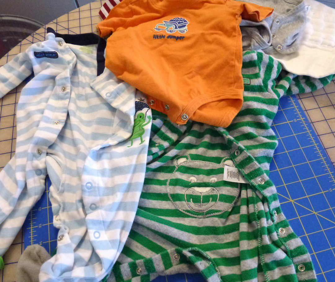 Quilts Made From Baby Clothes