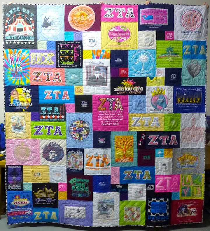 Trends in T-shirt Quilts : pictures of tshirt quilts - Adamdwight.com