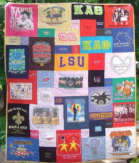 T-shirt Quilt Makers: Looking for One in My Area : pictures of tshirt quilts - Adamdwight.com