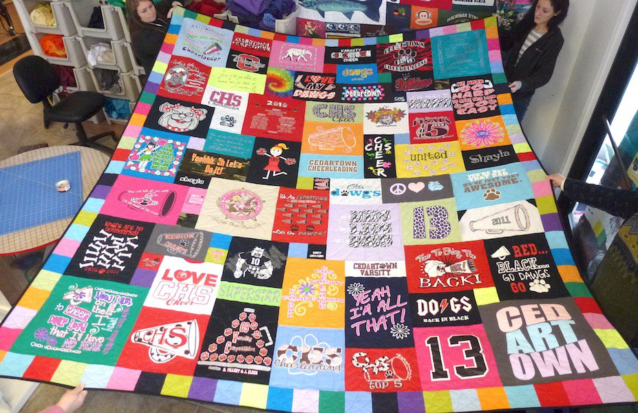 The Best T-shirt Quilts of 2013 : tahirt quilt - Adamdwight.com