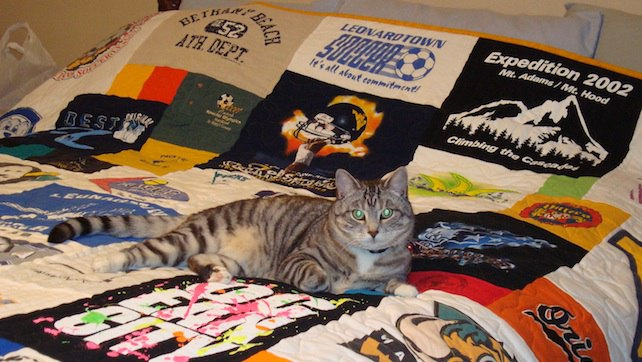 how to make a too cool t shirt quilt