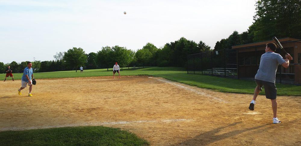 Company Softball 2014