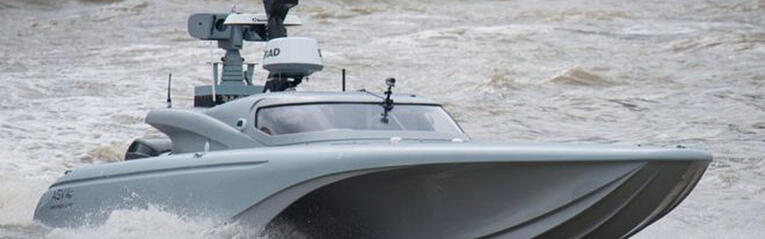 Hemisphere's Vector™ V103 Used on USV at Royal Navy's Unmanned Warrior 2016
