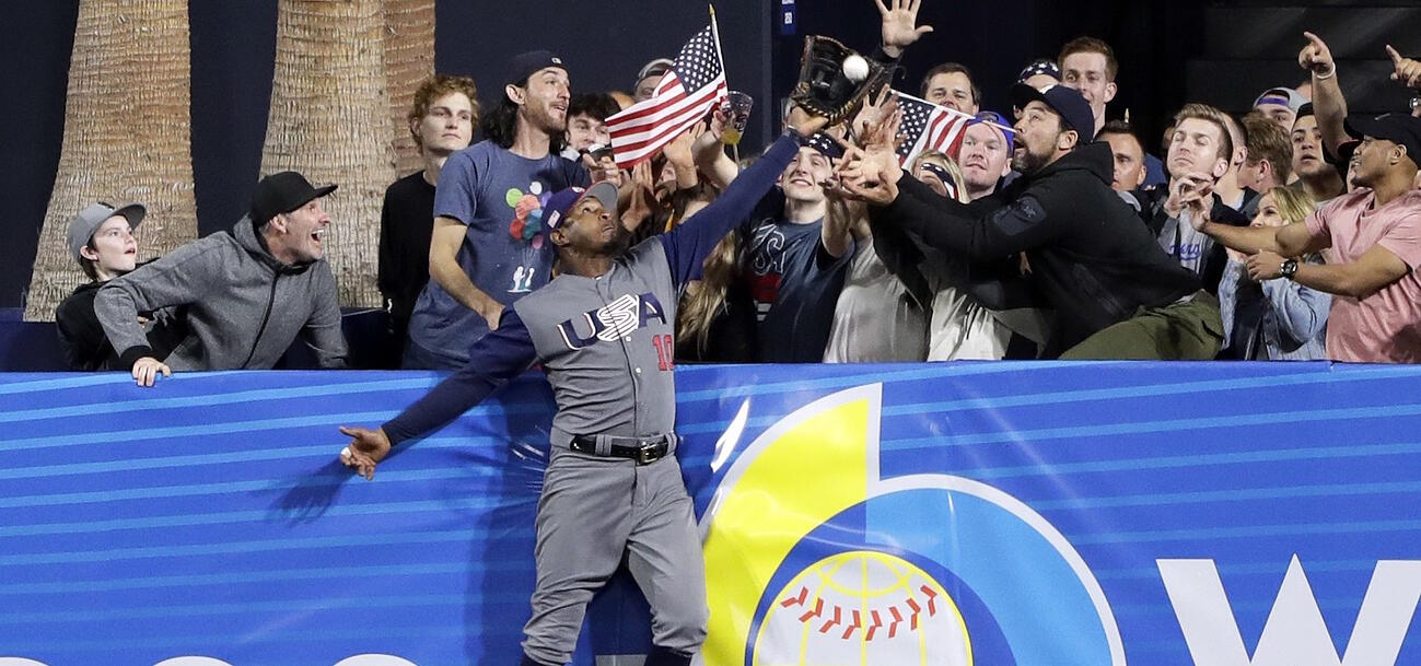 World Baseball Classic Win forTeam USA Delivers an Iconic American Photo