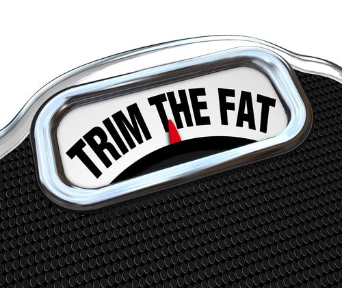 trim the fat by outsourcing IT services