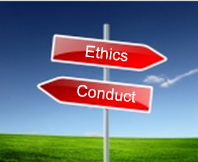 the difference between a code of ethics and a code of conduct