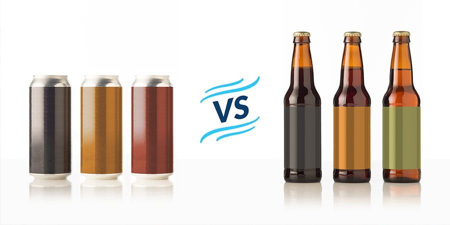 Cans vs. Bottles: Choosing Which is Best for Your Brew