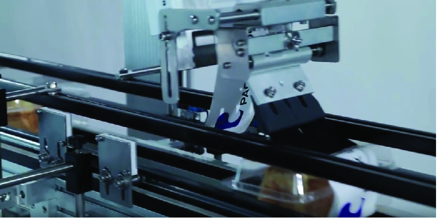 Top and Bottom Labeling Machines for the Food Industry