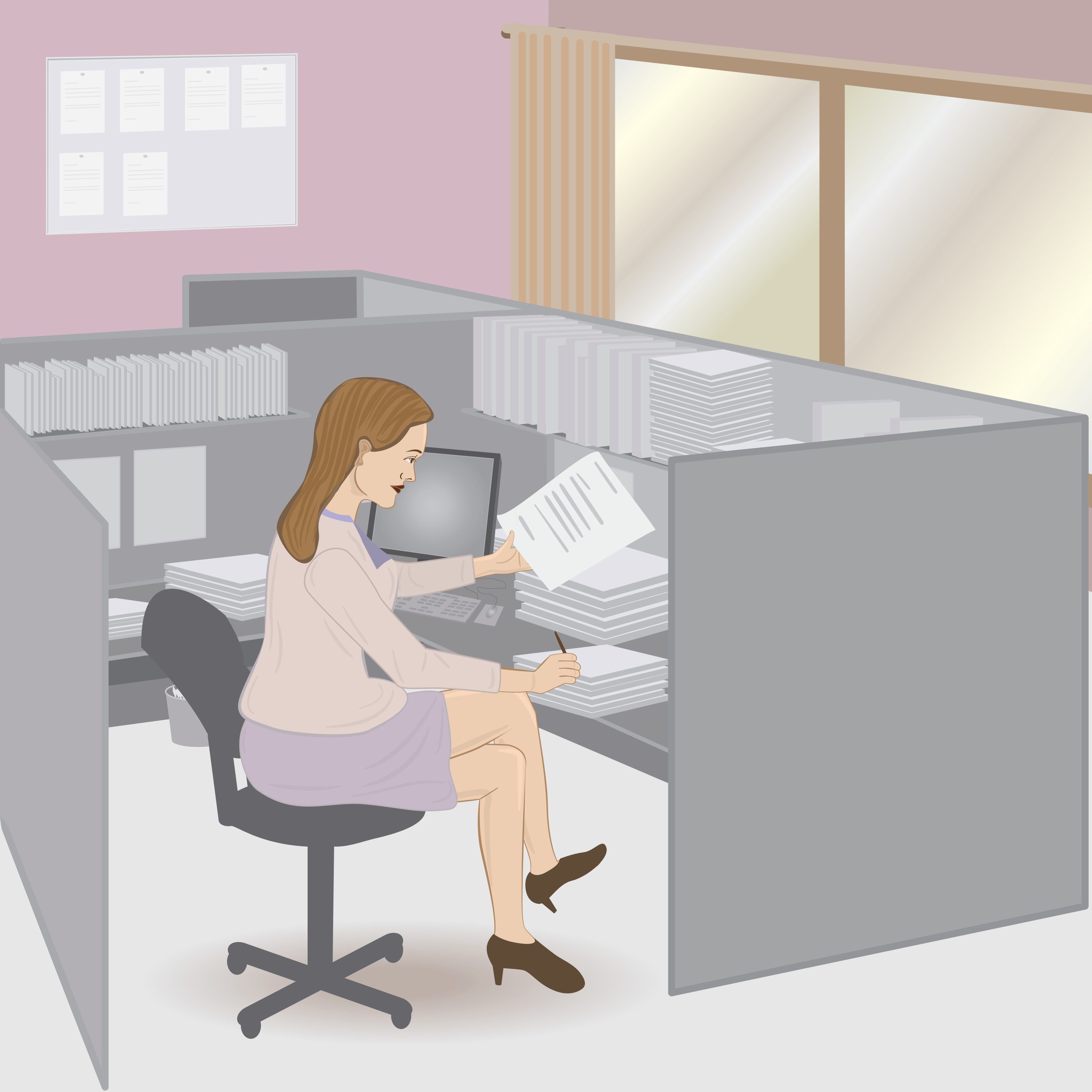 8 exercises you can do discreetly at your desk