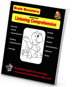 Brain Boosters are a great educational resource created by Breakthroughs in Learning