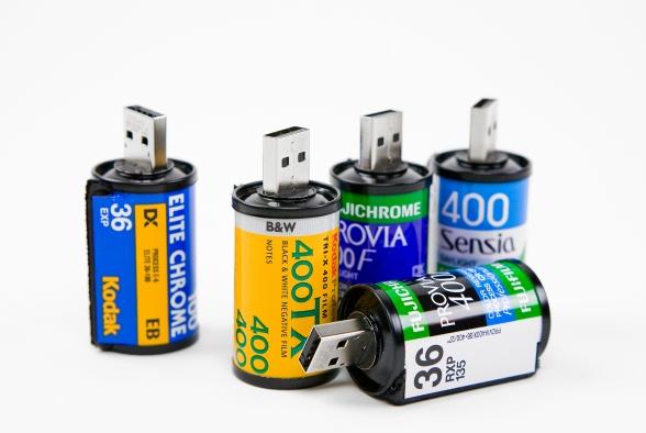 USB Film Roll, Whipp Gift Ideas, Retro gift ideas