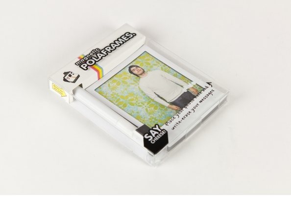 poloroid frames, magnetic frames, whipp gift ideas, retro gifts