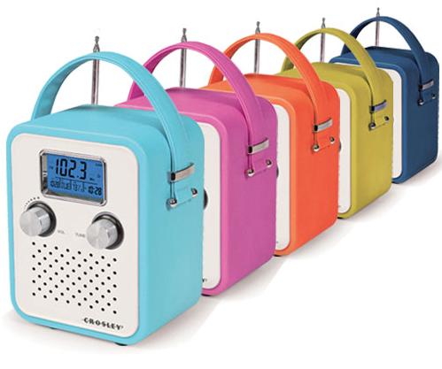 songbird radio, crosley radio, whipp list, whipp retro gift ideas