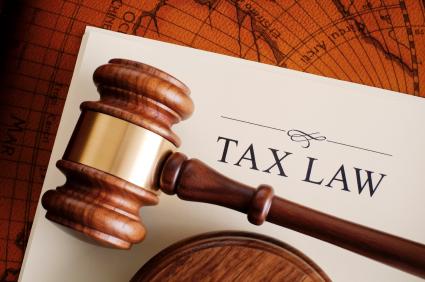 tax law gavel