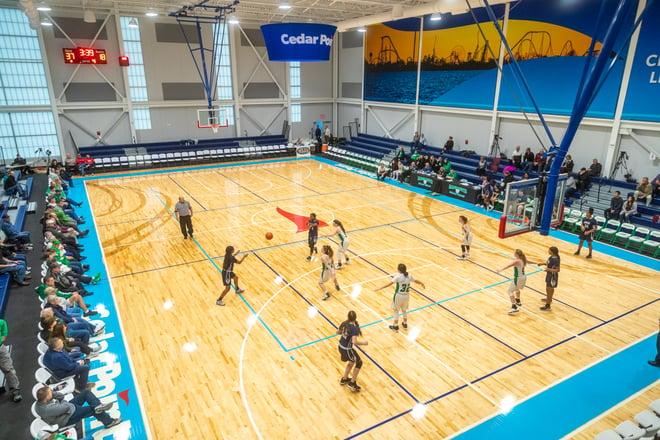 Sports tourism facility
