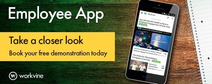 Employee app banner - take a closer look