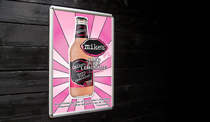 Branding & Marketing Campaign for Mike's Hard