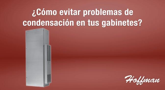 C mo evitar problemas de condensaci n en tus gabinetes - Problemas de condensacion ...