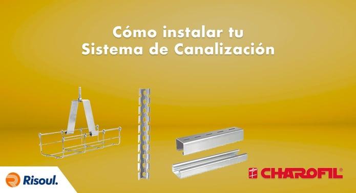 Cómo instalar tu sistema de canalización con productos Charofil