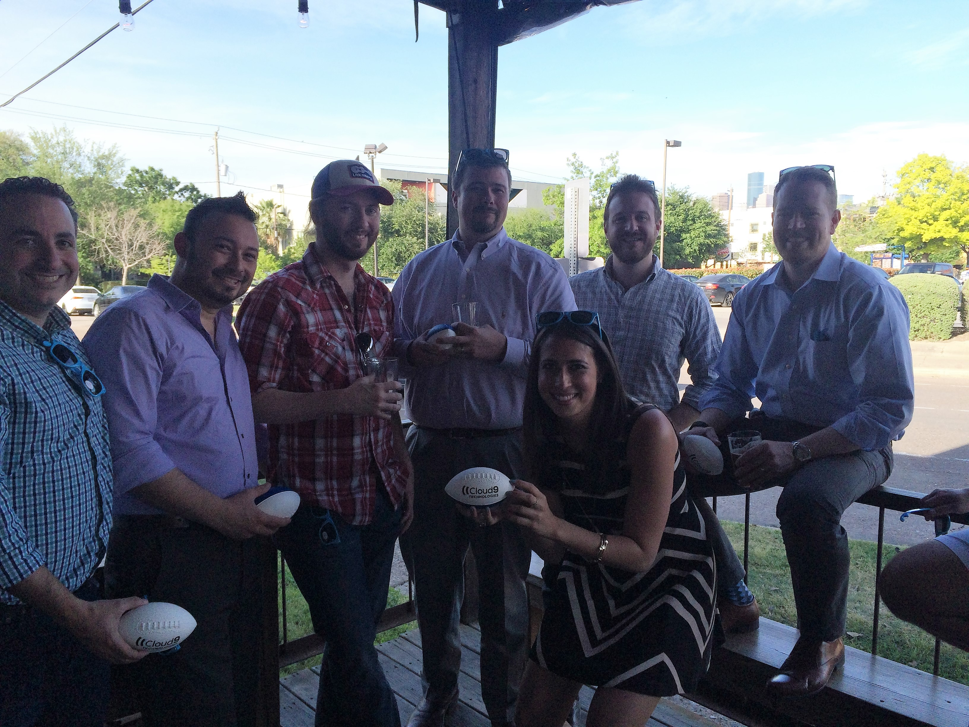 Energy Traders at Houston Happy Hour