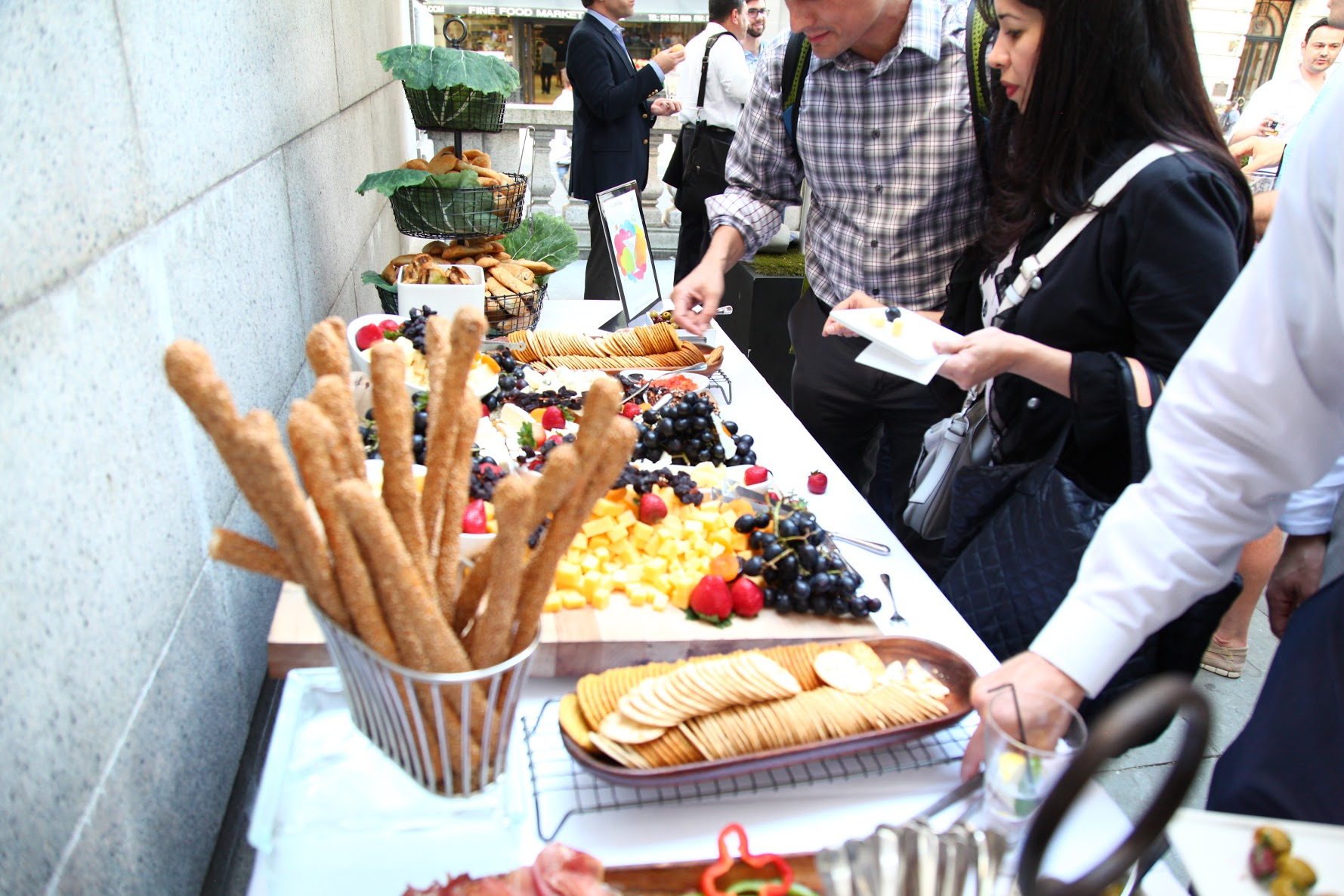 Bryant Park Grill Provided a Delicious Food Spread