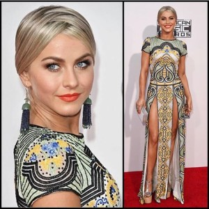Julianne Hough AMA red carpet
