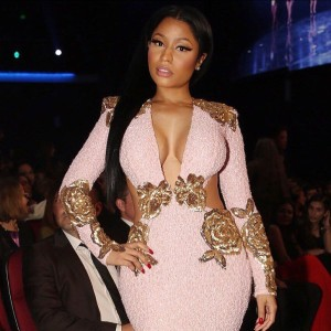 Nicki Minaj AMA red carpet