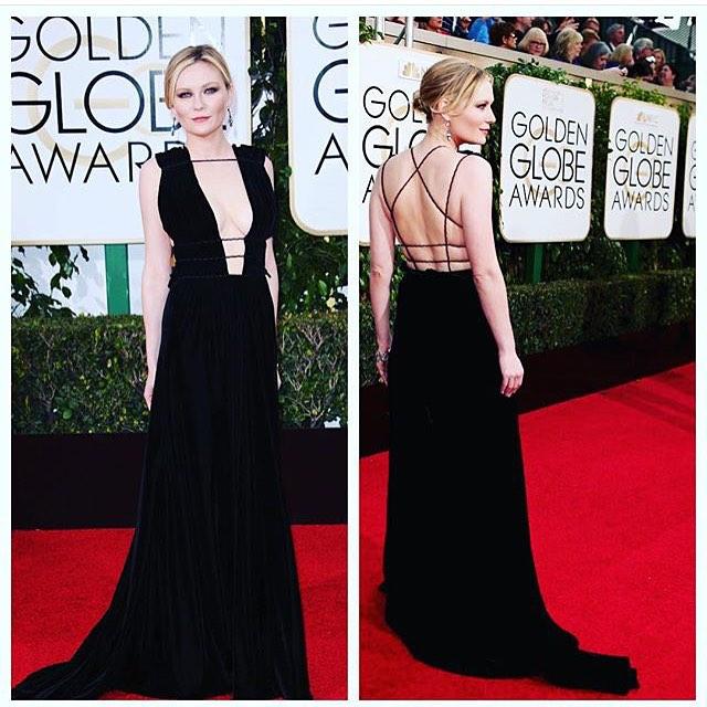 Kirsten Dunst Golden Globes