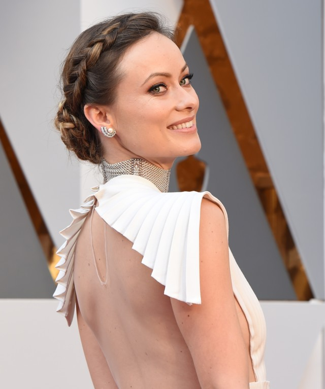 Olivia Wilde Oscars Hair and Makeup