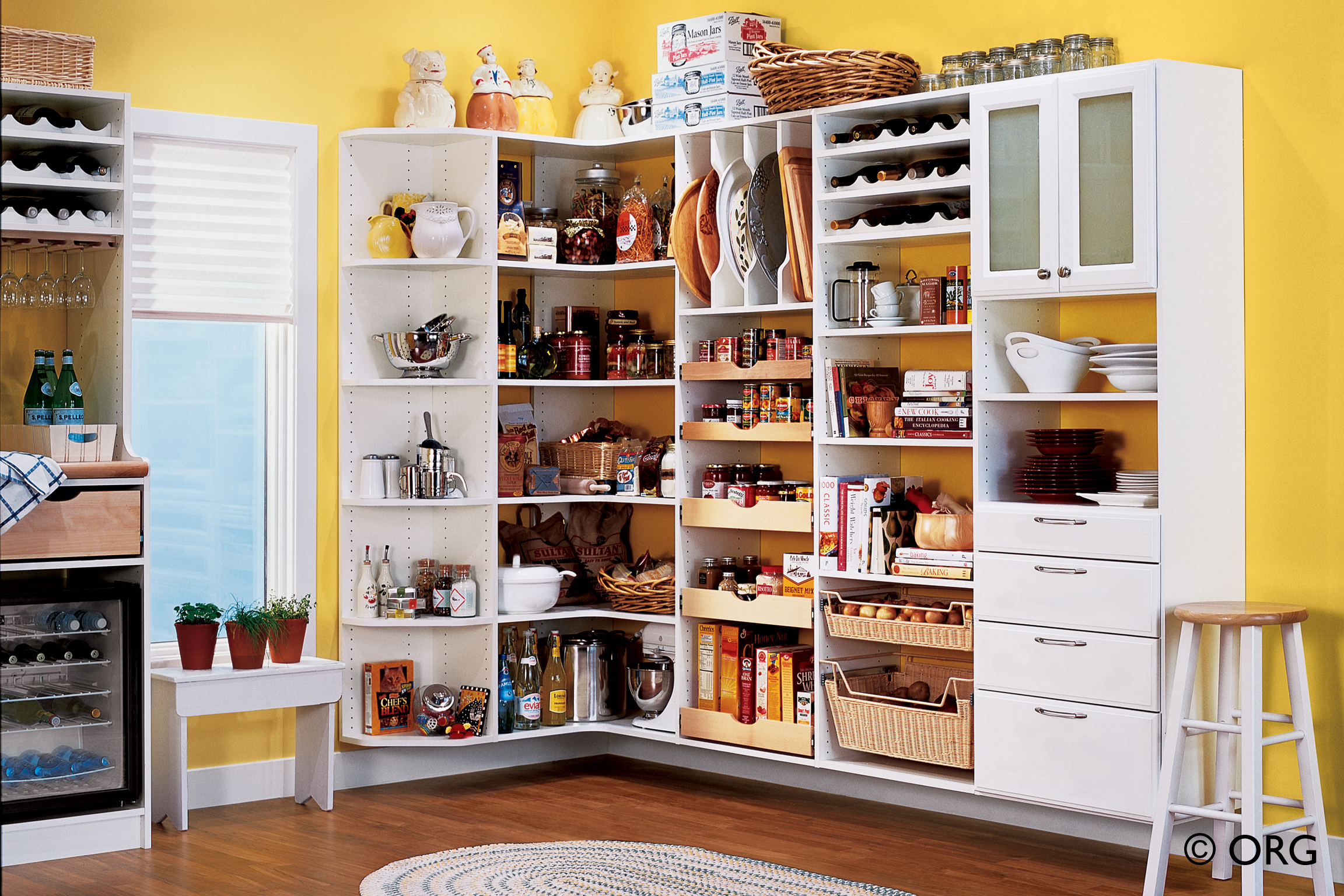 Garage Pantry Cabinets With Kitchen Storage Solutions How To Make A