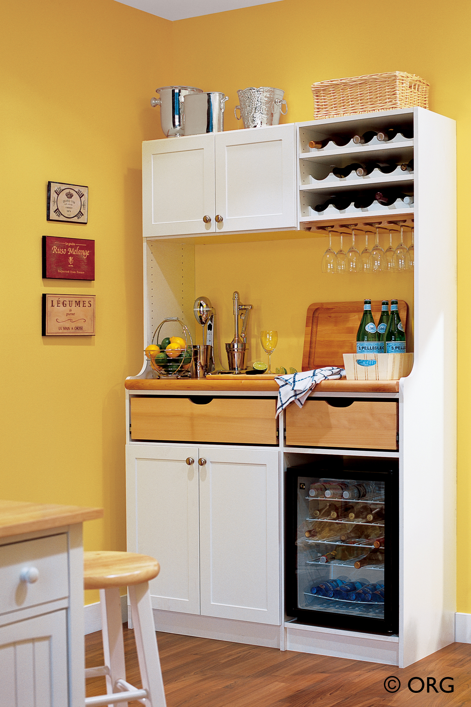 Decorating Kitchen Storage Cabinets