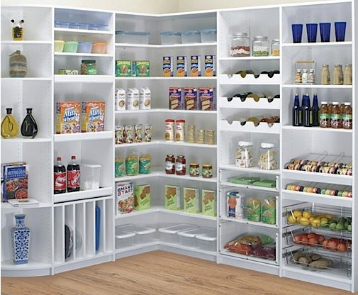 Kitchen and pantry storage ideas to perk up your pantry for Kitchen storage furniture ideas