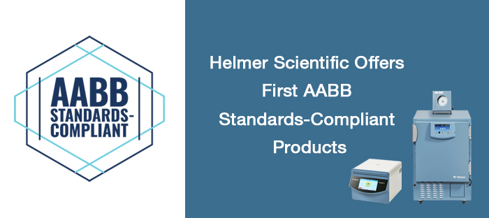 Helmer Scientific Is the First Vendor to Participate in New AABB Standards-Compliant Product Evaluation Program