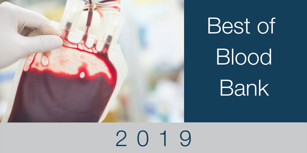 Blood Bank: The Best of 2019
