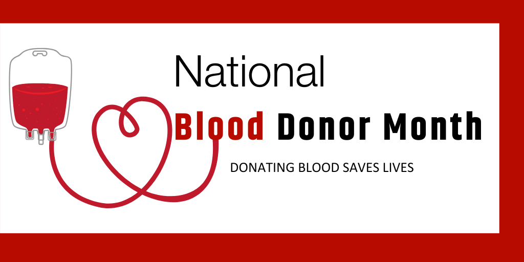 National Blood Donor Month Helps Save Lives