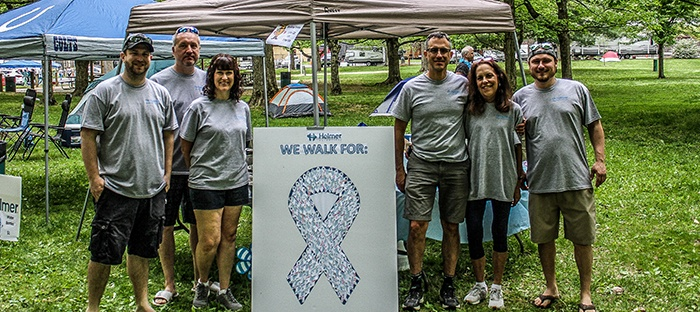 Helmer Generosity: Relay for Life: 2018