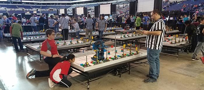 Strong Futures: VEX Robotics Indiana State Championship