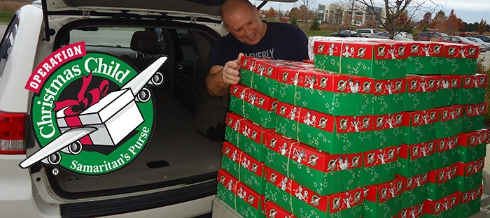 Filling Shoeboxes with Love