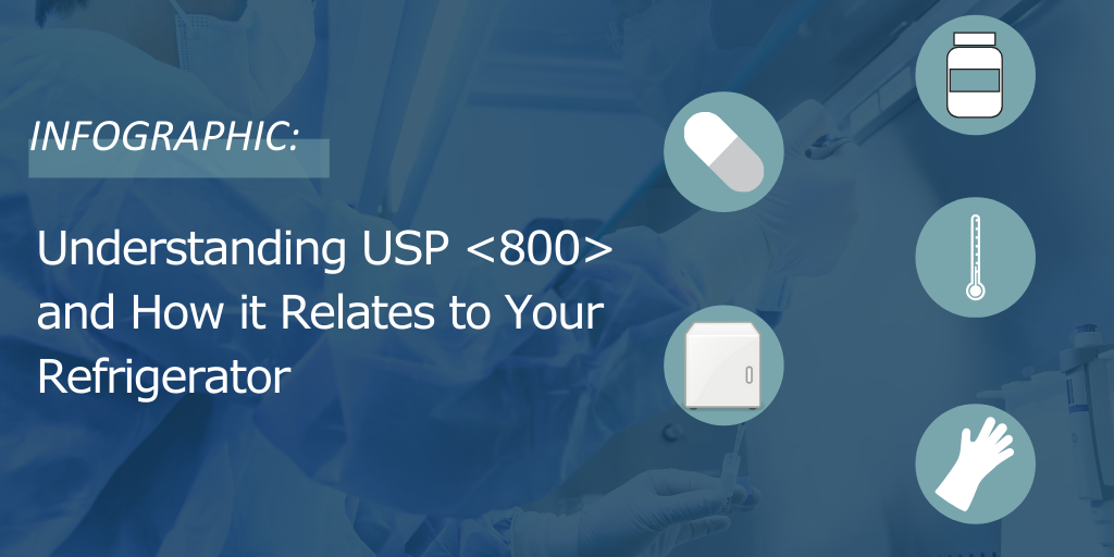 Infographic: Understanding USP <800> and How it Relates to Your Refrigerator