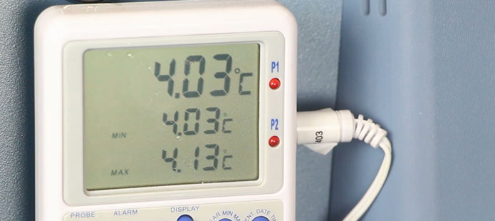 Making Service Simple: Checking the Temperature Calibration